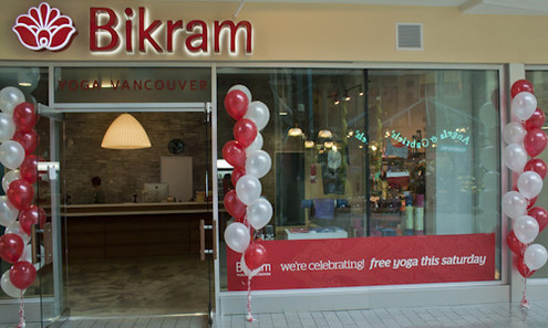 Bikram Yoga Vancouver Cambie with Balloons