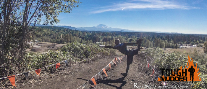 Bikram Yoga and Tough Mudder - Standing Bow Pose