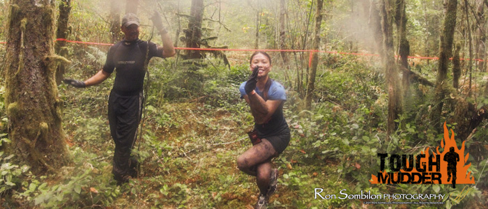 Bikram Yoga and Tough Mudder - Eagle Pose
