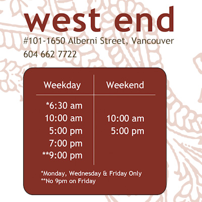 New Kitsilano Schedules Beginning May 13, 2013