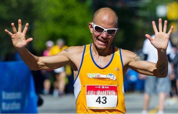 Jason Loutitt BMO Vancouver Marathon