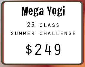 Mega Yogi Yoga Challenge
