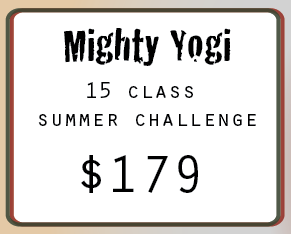Mighty Yogi - Yoga Challenge